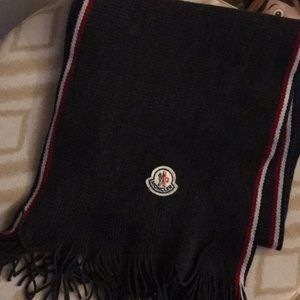 Brand new authentic new  Moncler wool scarf